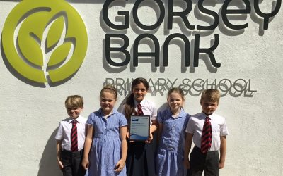Prestigious technology accolade for Gorsey Bank Primary