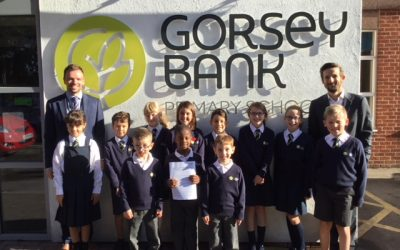 Gorsey Bank Primary celebrates glowing Ofsted report