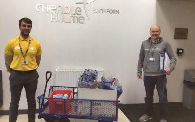 Laurus Trust schools donate equipment to support NHS