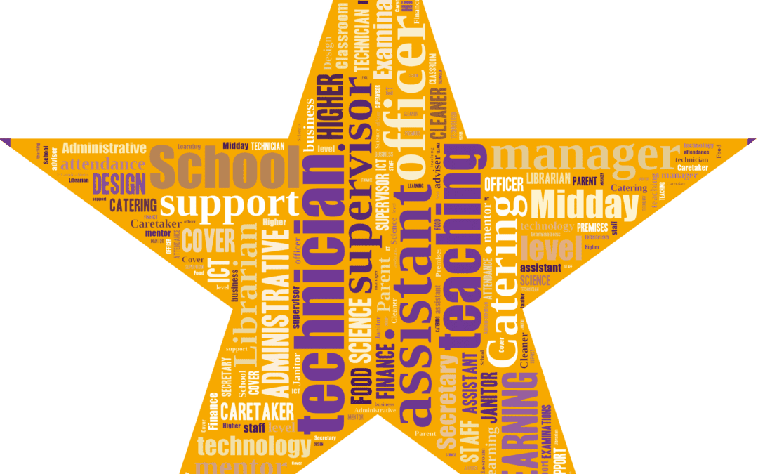 Thank you to all our support staff stars!
